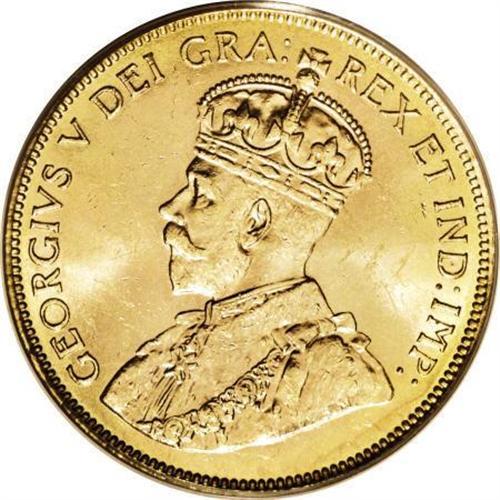 Coup d'œil sur la 10 dollars or du Canada